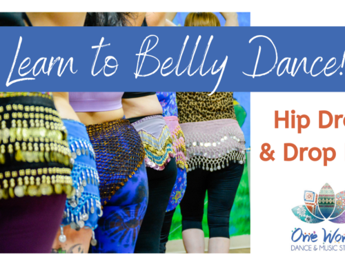 Learn to Belly Dance: The Hip Drop
