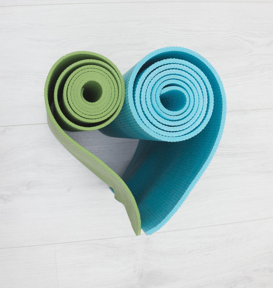 yoga mats for Phoenix fitness classes